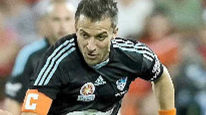 MARQUEED MAN: Alessandro del Piero in a rare on-field appearace for Sydney FC against the Brisbane Roar in round two.