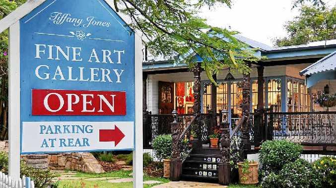 ART HOUSE: The Tiffany Jones Fine Art Gallery in Buderim celebrates its 10th birthday tomorrow.