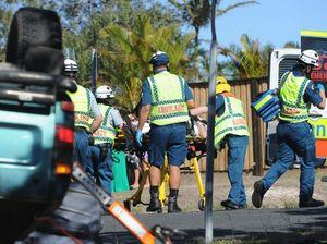 Man, 92, cut from car in Hervey Bay crash