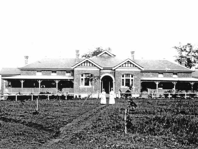 The Coraki hospital as it was in 1910.