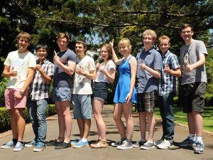 Toowoomba's OP1 students 2013