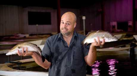 Rod Missen, of Glenview fish farming technology firm RADAQUA.