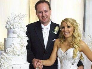 Nikki Webster and her husband Matthew McMah.