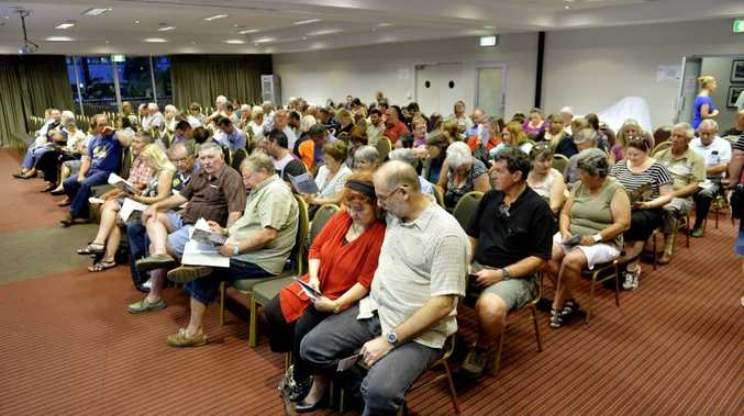 SIGNING UP: Gathering hears a flood class action update.