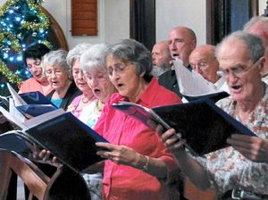 Choirs combine to bring story of peace and joy