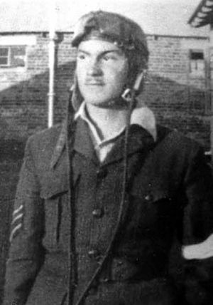 Ted Sly in Rhodesia in the 1940s.