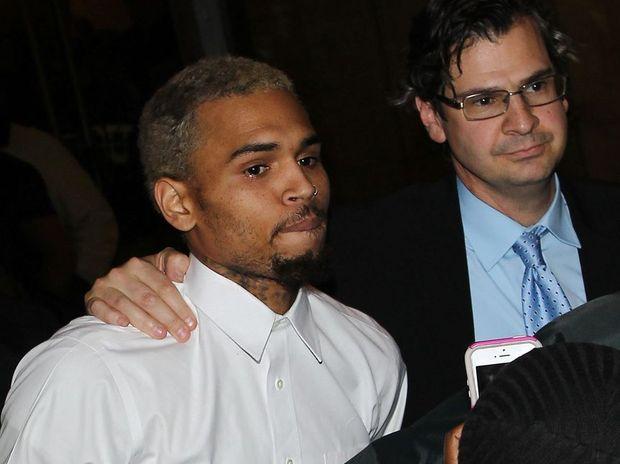 Chris Brown.