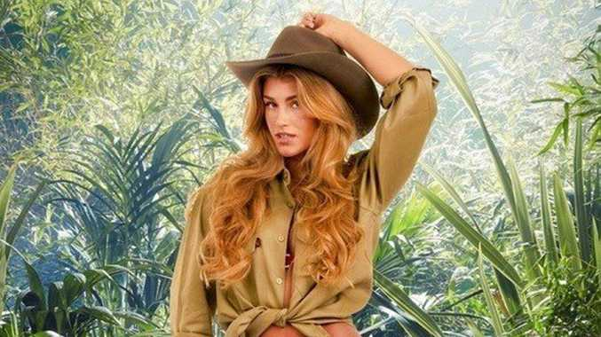 Miss Universe Great Britain Amy Willerton one of the contestants on the 2013 season of I'm a Celebrity Get Me Out of Here.