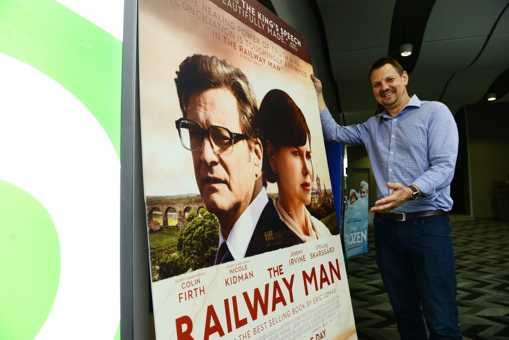 SNEAK PEEK: Limelight Cinemas will host a preview screening of the film The Railway Man on Sunday to raise money for charity.