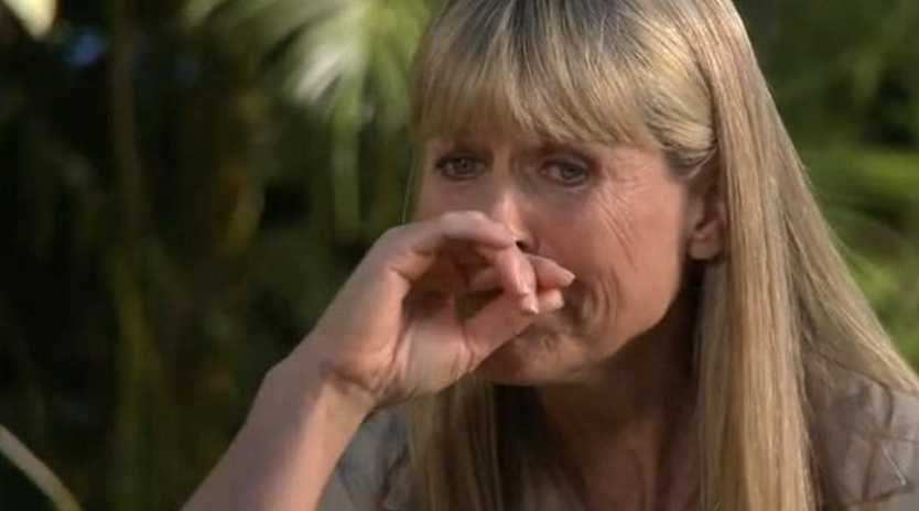 Australia Zoo owner Terri Irwin breaks down talking about Steve during an interview on The Bottom Line.