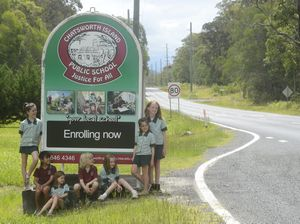 New sign reflects Chatsworth Island's school pride