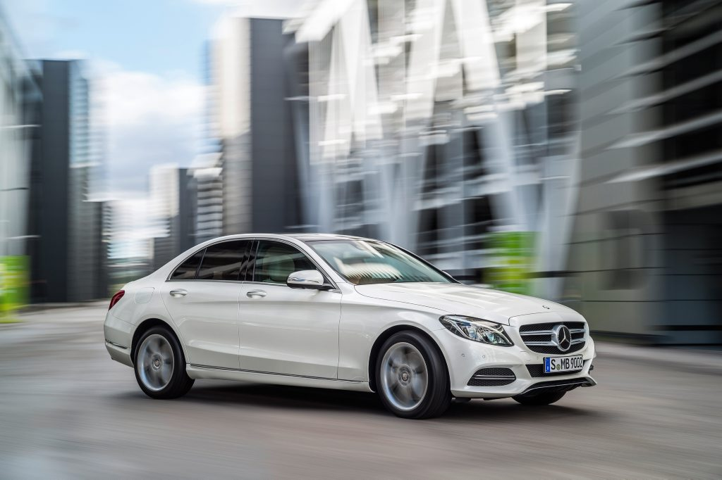 The new Mercedes-Benz C-Class.