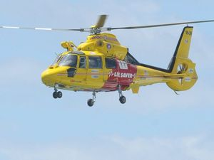 Helicopter responds to near-drowning on Fraser Island