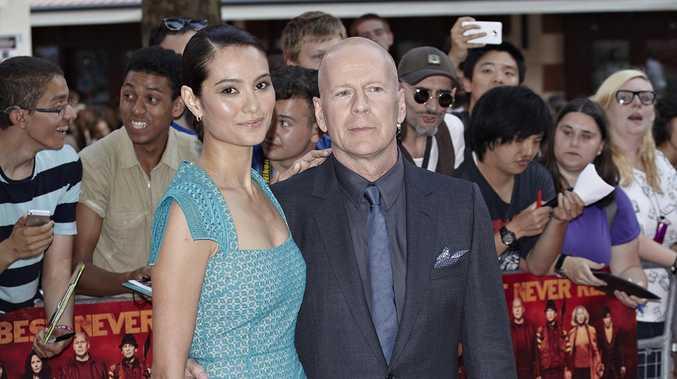 Bruce Willis and Emma Heming.