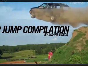 Epic car jump compilation