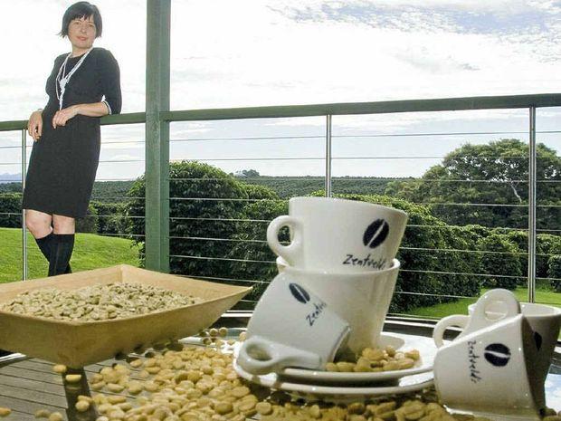 NICHE MARKET: Master roaster and pioneer coffee grower Rebecca Zentveld helped create espresso flavours from North Coast Arabica beans.