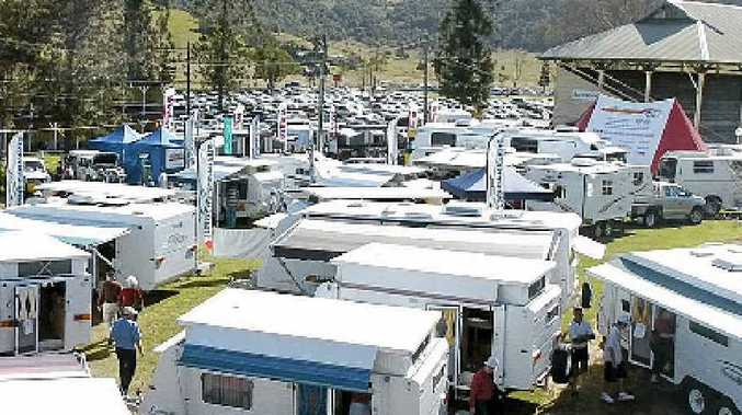 KEY EVENT: Last year's 4WD Caravan and Camping Show at Lismore Showground.