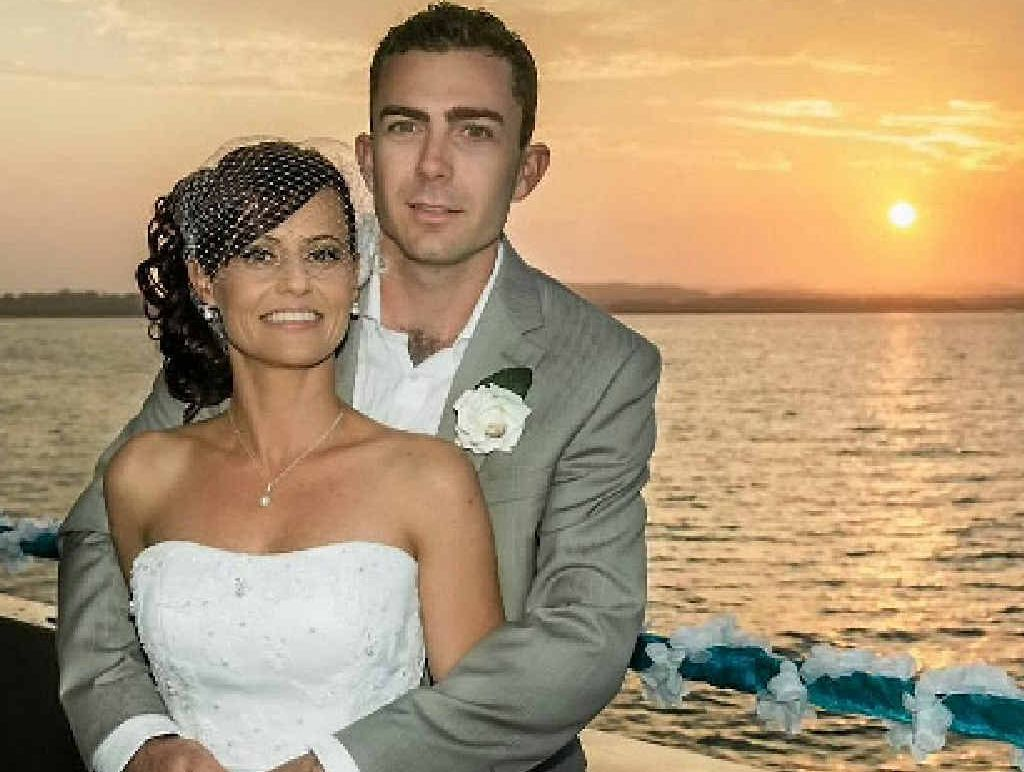 Rebecca Carkeet and David Schmidt were married in a romantic and intimate wedding on board Princess Iluka.