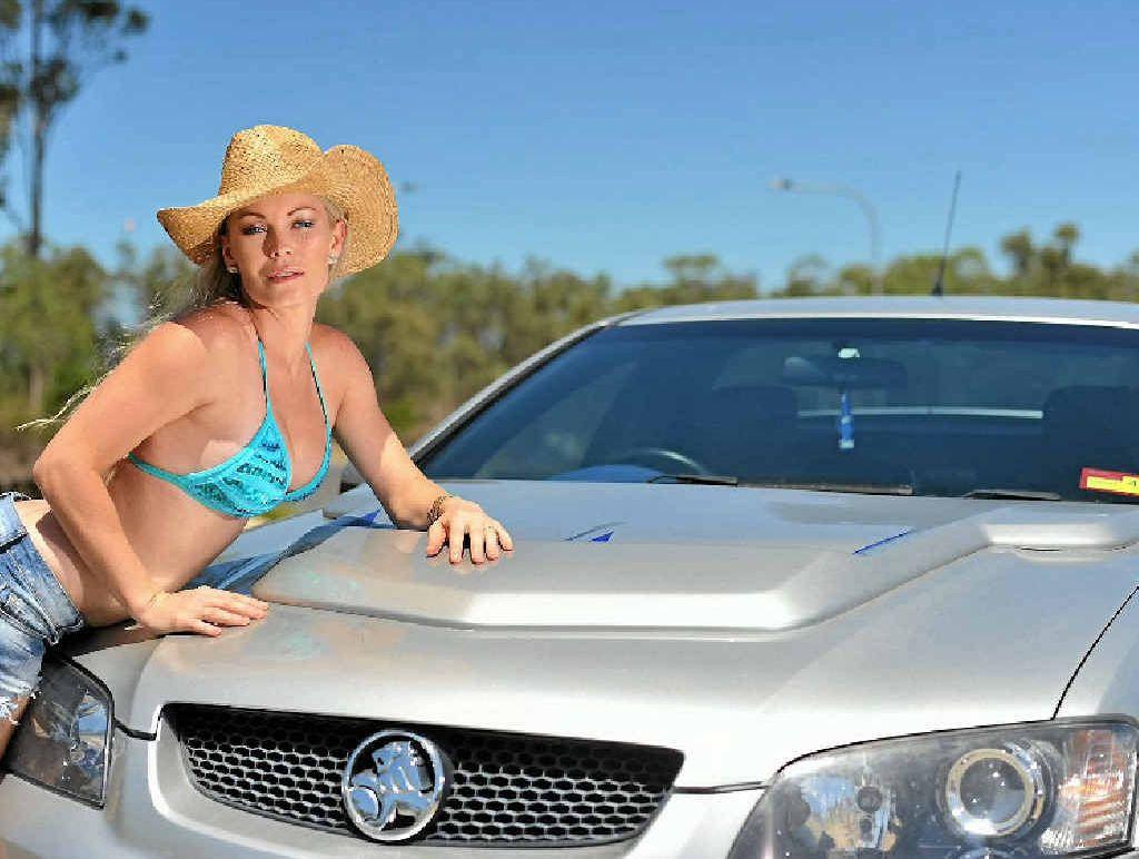 Krystal Brezigar and her husband Phil's 2008 Holden VE SS Ute.