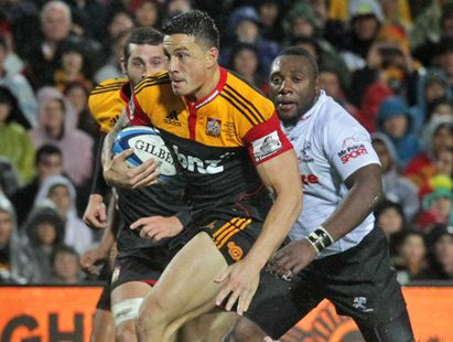 Sonny Bill Williams has signed a two-year deal with the NZRU and the Chiefs.