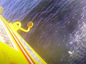 Fishermen spent night clinging to esky after boat overturned
