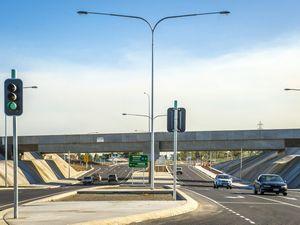 End of Calliope Crossroads work gets closer