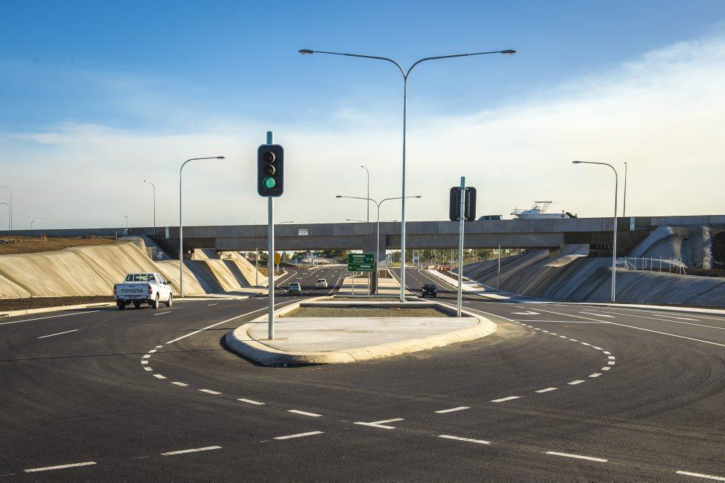 The newly-opened Calliope Crossroads.