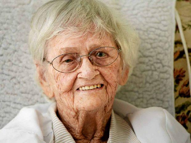 Rockhampton's Ella McLennan will turn 100 on Monday.