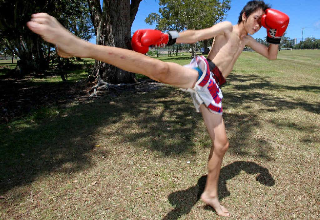 Junior Champion: John Robinson, 14, has been kicking butt and taking names. Photo: Nolan Verheij-full