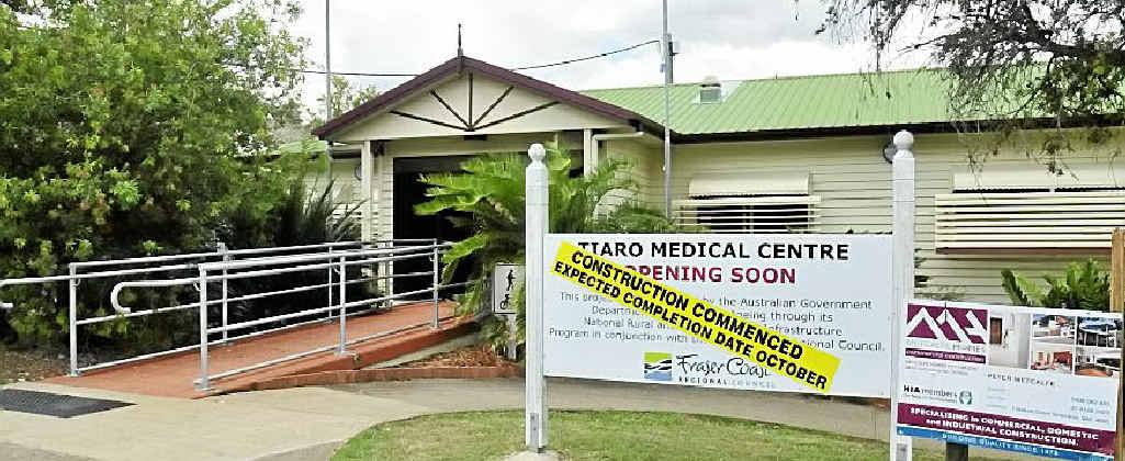 Tiaro Medical Centre.