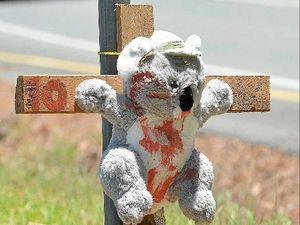 Stuffed koalas smeared with fake blood has town talking