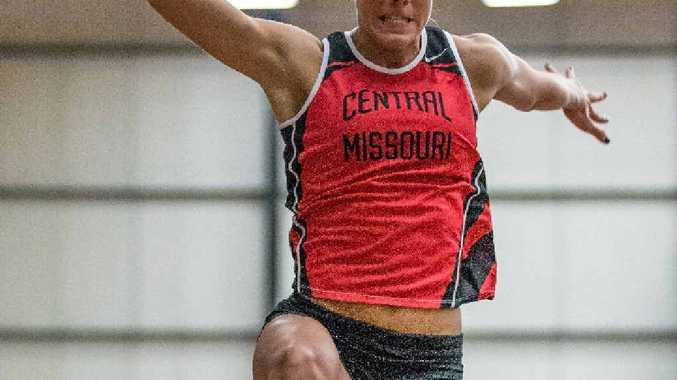 JUMPING AHEAD: Zoe Sharplin has secured a scholarship in the US.