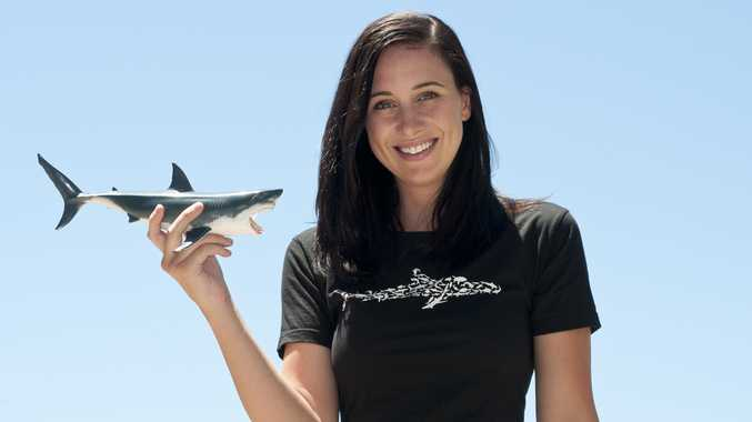 Researcher Sarah Richmond hosts the new TV series Sarah Shark.