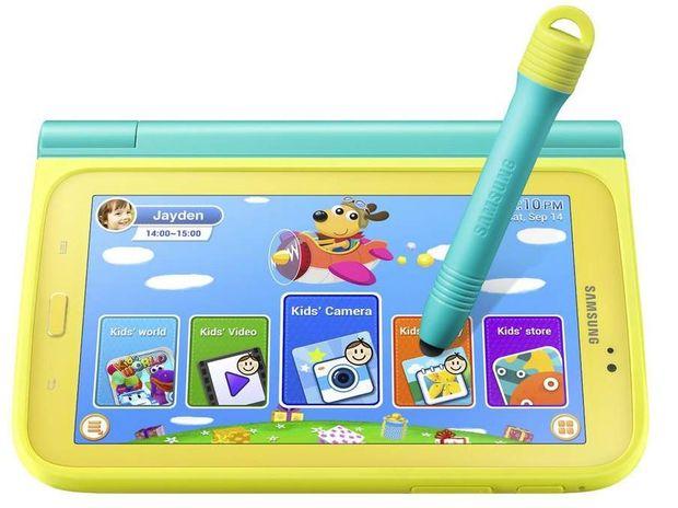 Samsung's child friendly tablet.