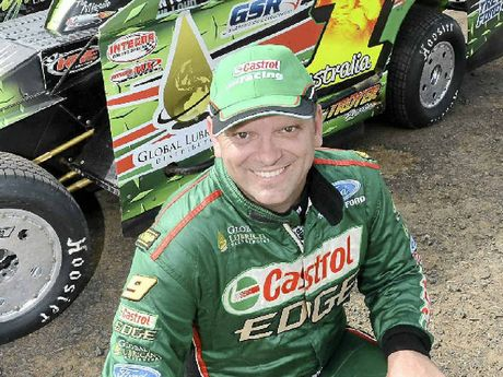 ON TRACK: Lismore's Mark Robinson is aiming to impress at the big night of racing at Lucas Oil Lismore Speedway.