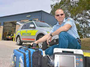 Paramedics get set for a busy, silly season