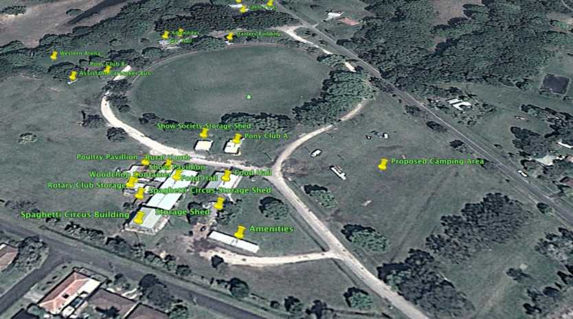 An image from the draft plan of management for the Mullumbimby Showground.