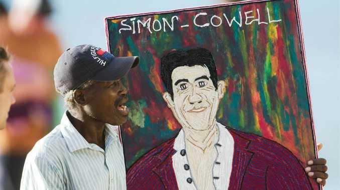 Simon Cowell's new picture.