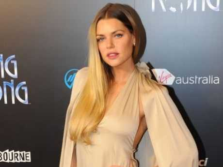 A supplied photo of Sophie Monk on the red carpet at the world premiere of King Kong at The Regent Theatre in Melbourne, Saturday, June 15, 2013.