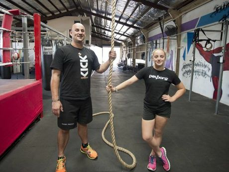 Glenn Azar has sold his gym to finance his daughter Alyssa's Mount Everest climb.