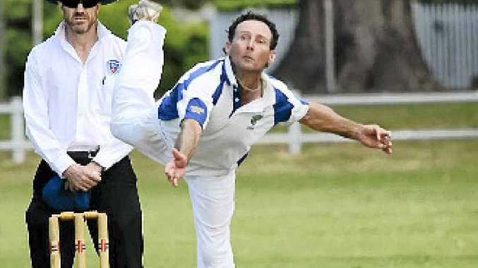 SHINING LIGHT: Matt Young was Lower Clarence's best in the Country Plate semi-final defeat to Albion Park.