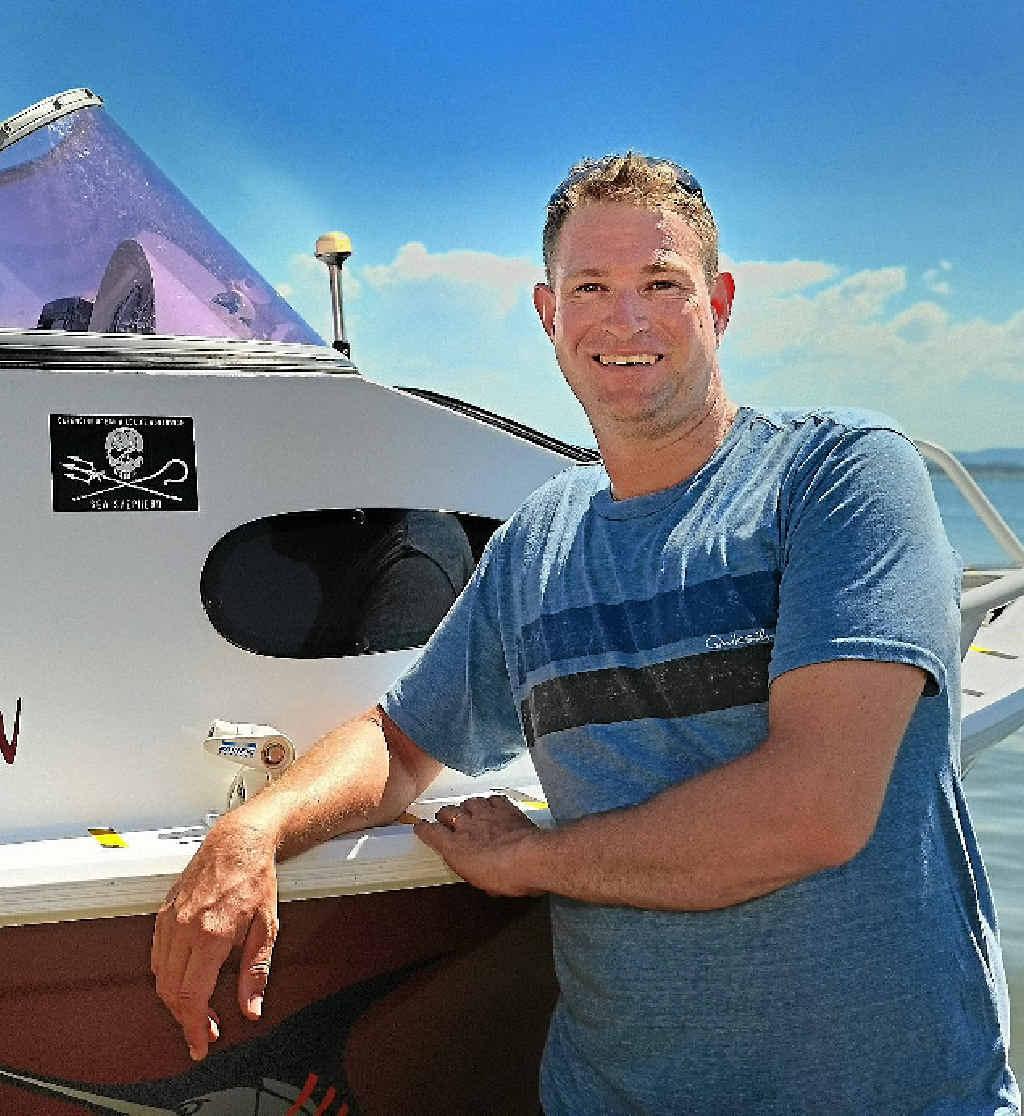 Damien Dodd enjoys family life and fishing in Gladstone.