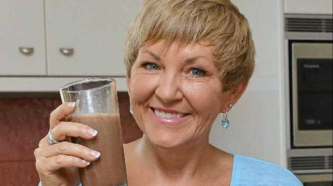 RESOLUTIONS: Annette Sym is worried that people are relying on diet shakes to lose weight.