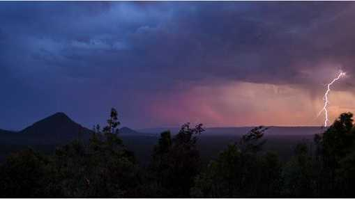 More reader photos from the thunderstorms that tore over the Sunshine Coast on December 29, 2013.
