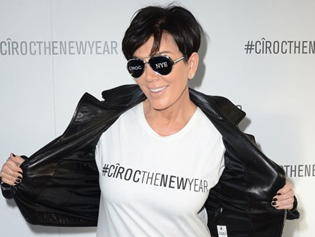 Kris Jenner says to play it safe on New Years Eve and let a friend drive you home.