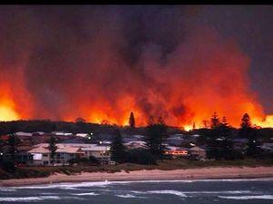 Tweed firies joined battle against Lennox Head blaze