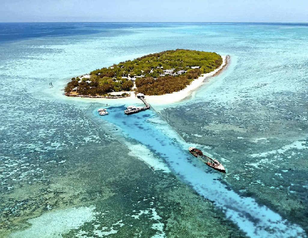 BIG SALE: Delaware North placed Heron Island Resort on the market last September.