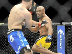 Surgery for Silva after leg break