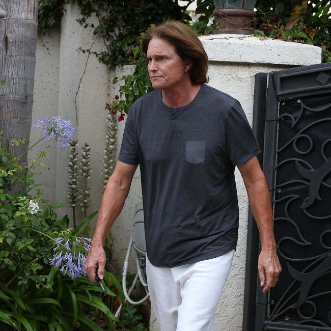 Bruce Jenner grows a ponytail