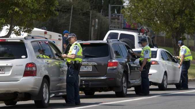 Toowoomba traffic police are out in force for a New Year's crackdown on drink driving.